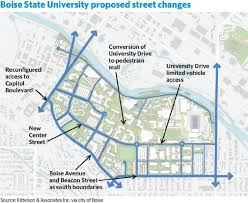 Boise Greenbelt Map Boise State Expansion Could Knock Out A Neighborhood Idaho Statesman