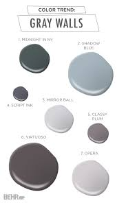 Blue Gray Gray Walls Are Known For Bringing A Modern Flair To Any Space