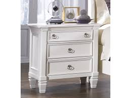 ashley prentice bedroom set ashley b672 93 prentice three drawer night stand