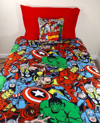 Marvel Double Duvet Cover Marvel Double Bedding The Avengers Bedding For The Little Boy U0027s