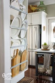 Kitchen Cabinet Plate Rack Storage 29 Best Plate Racks Images On Pinterest Plate Racks Plate