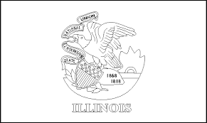 colouring book of flags united states of america