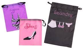 travel laundry bag images Shoe laundry and lingerie travel bag sets groupon jpg