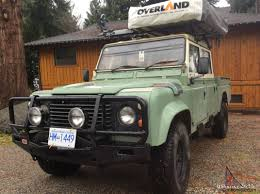 used land rover defender rover defender 130 with high capacity pick up box