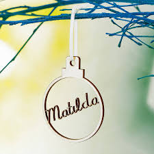 personalised christmas tree decorations u2013 decoration image idea