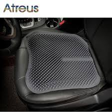 si e massant voiture atrée silicone coussin de couverture de siège de voiture