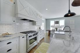 super white granite counters transitional kitchen parade of