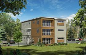 Modern Apartment Plans by Apartment Plans 8 Plex House Plans