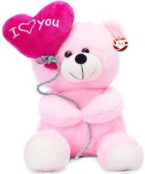 teddy bears mgplifestyle i you ballon heart teddy pink 18 cm 7