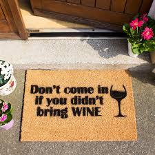 bring wine doormat u0026 must bring tacos doormat taco doormat