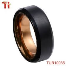 cincin tungsten carbide biru plating tungsten wedding ring pemegang sikat karbon untuk