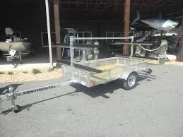 Utility Bed Trailer Kt4815 Galvanized 4 Place Kayak Trailer With 4 X 8 Utility Bed