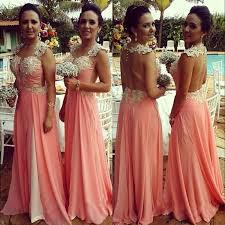 blush colored bridesmaid dress watermelon pink bridesmaid dresses dress yp
