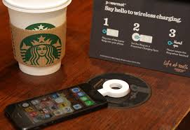 starbucks brings wireless charging to uk stores