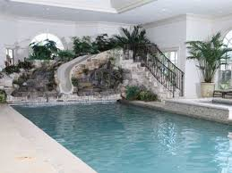Indoor Pool House Plans Indoor Pool W Slide If Im Ever Rich Im Putting This In My House