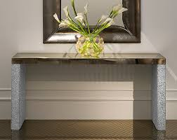 glass mirrored console table console table design fancy console tables with mirror set console