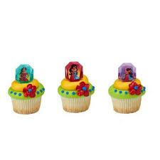 24 elena of avalor noble heart cupcake cake rings birthday party