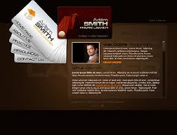 lawyer flash site template