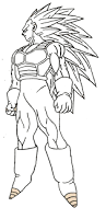 vegeta coloring pages vegeta ssj3 by sparten69r on deviantart