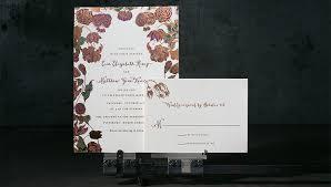 Mint Wedding Invitations Copper Foil Floral Wedding Invitations Mint