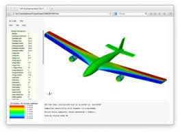 software integrates disciplines for aircraft design u2013 syracuse
