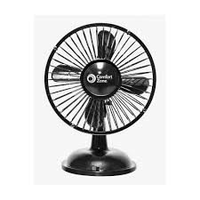 Oscillating Desk Fan by Cz5usbbk 6 Inch Oscillating Usb Battery Desk Fan Black