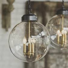 Clear Globe Pendant Light Glass Globe Pendant Light Foter