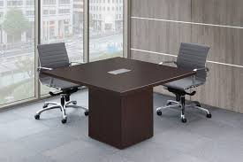 Keswick Conference Table 48 U201d Conference Table With Cube Base By Office Source Direct