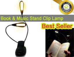 reading light for books clip best portable clip on book and music stand ls