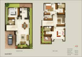 south facing house floor plans west facing duplex house floor plans