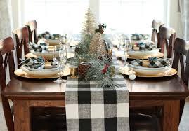 buffalo check table runner we heart parties blog my buffalo plaid christmas table