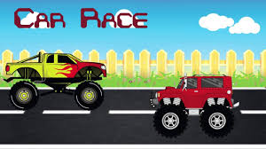 monster truck racing video monster truck car race animated video for kids youtube