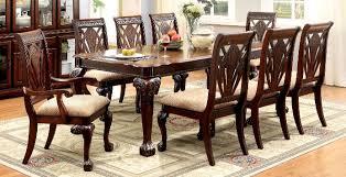 buy furniture of america cm3185t set petersburg i formal dining