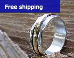 mens spinner rings mens spinner ring etsy