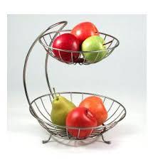 3 tier fruit basket two tier metal fruit basket 3 tier fruit stand basket earthdeli