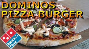dominos pizza cheeseburger fast food review utrecht netherlands