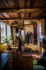 a custom 240 square feet tiny house on wheels in eugene oregon