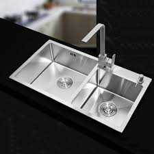 double sinks kitchen 710 420 220mm stainless steel undermount kitchen sinks sets double