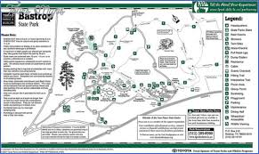 bastrop state park map bastrop state park map map travel vacations