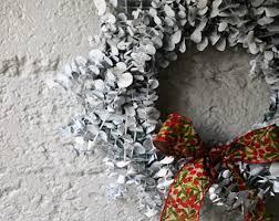 white wreath etsy