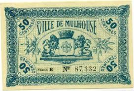 chambre commerce mulhouse billets billets des chambres de commerce mulhouse 50 centimes