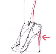 how to draw high heels i draw fashion