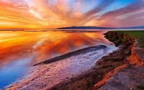 high resolution wallpapers widescreen sunset hueputalo