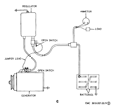 figure 9 generator regulator removal adjustment and test wiring