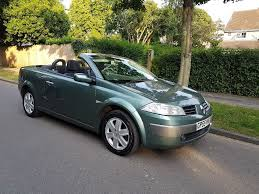 renault megane convertible 2005 new mot in chichester west