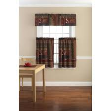 kitchen foremost curtains and valances in country photo