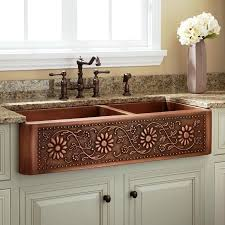 kitchen sink and faucet combo fabulous kitchen amazing copper sinks lowes 58 for modern home