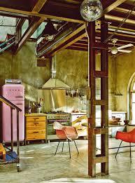 colorful vintage industrial style home of gustavo salmerón in madrid