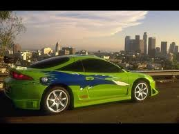 mitsubishi eclipse fast and furious the fast and the furious mitsubishi eclipse project youtube