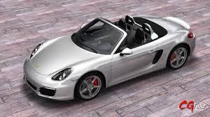 Porsche Boxster Convertible - porsche boxster s 2015 3d model cgtrader